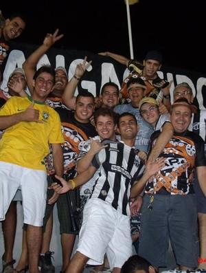 Grupo de torcedores Cangaceiros Alvinegros 2 (Foto: Divulgação)