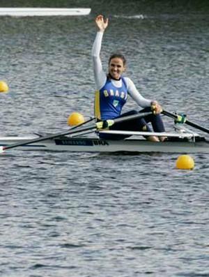 Fabiana Beltrame ouro Copa do Mundo de remo em Hamburgo (Foto: Divulgação)