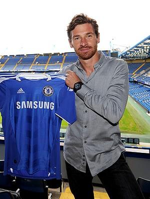 Andre Villas-Boas é apresentado como técnico do Chelsea (Foto: Getty Images)