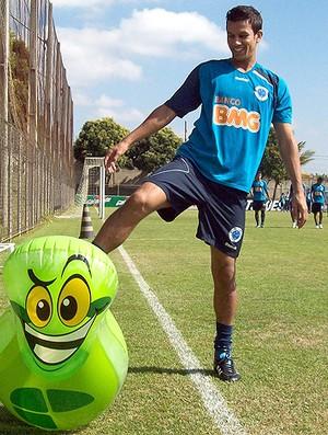 henrique cruzeiro joão sorrisão (Foto: Fernando Martins/Globoesporte.com)