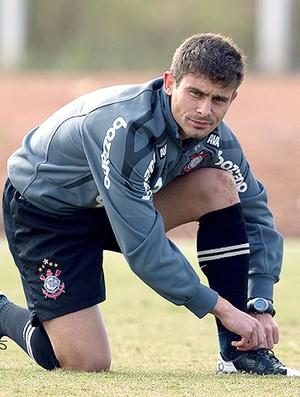 Alex no treino do Corinthians (Foto: Ag. Estado)