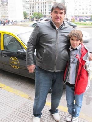 Guido e Diego Buenos Aires (Foto: Leandro Canônico/GLOBOESPORTE.COM)