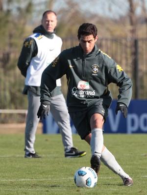 Ganso treino Seleção (Foto: Mowa Press)