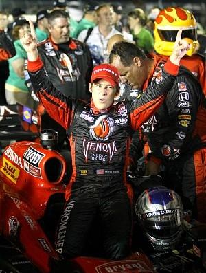 Marco Andretti, GP de Iowa Fórmula Indy (Foto: AP)