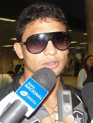 botafogo   elkeson (Foto: Thiago Fernandes/Globoesporte.com)