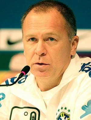 Mano Menezes durante entrevista da Seleção (Foto: Mowa Press)