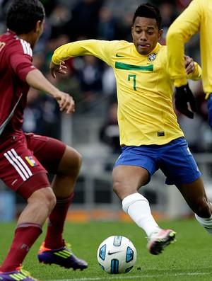 robinho brasil arango venezuela copa américa (Foto: Mowa Press)