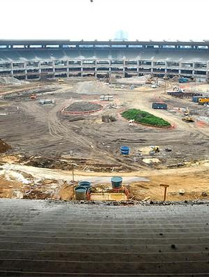 obras no estádio Maracanã (Foto: Ag. Estado)