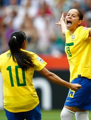 erika brasil x guiné equatorial (Foto: Agência Reuters)
