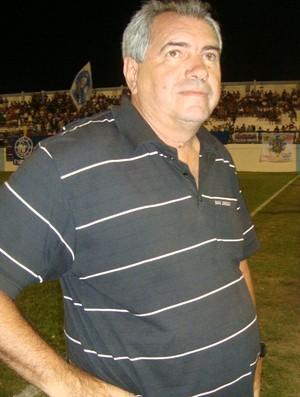 Marcos Birigui, técnico do Rio Branco-ES (Foto: Deysiane Gagno/Rio Branco AC)