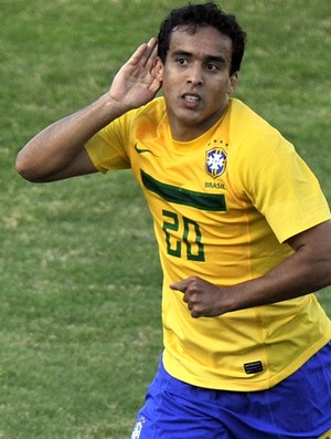 jadson brasil gol paraguai copa américa (Foto: agência AFP)