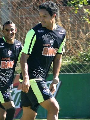 dudu cearense atlético-mg treino (Foto: Lucas Catta Prêta / Globoesporte.com)