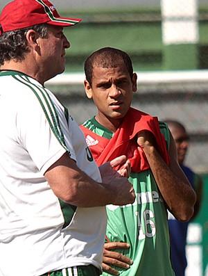 abel braga carlinhos fluminense treino (Foto: Divulgação / Site Oficial do Fluminense)