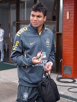 casemiro seleção sub-20 (Foto: Victor Canedo / Globoesporte.com)