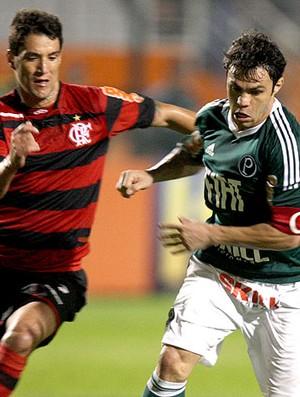 Kleber no jogo do Palmeiras contra o Flamengo (Foto: JF Diorio / Ag. Estado)