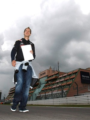 Vettel RBR gp da alemanha nurburgring (Foto: Agência Reuters)