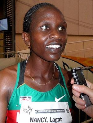 atletismo Nancy Langat, do Quênia, 1500m (Foto: Leonardo Velasco / Globoesporte.com)