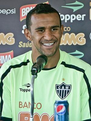 Serginho durante entrevista do Atlético-MG (Foto: Bruno Cantini / Site oficial do Atlético-MG)