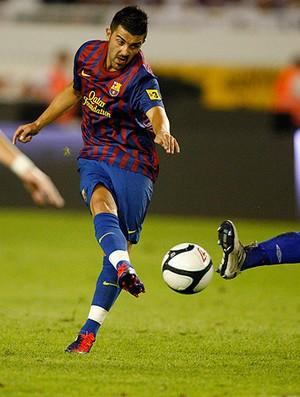 david villa barcelona Hajduk Split (Foto: Agência Reuters)