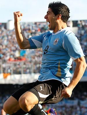 luis suarez uruguai gol paraguai final copa américa (Foto: Agência Reuters)