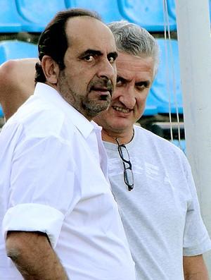 Alexandre Kalil, presidente do Atlético-MG no treino (Foto: Marco Antônio Astoni / Globoesporte.com)