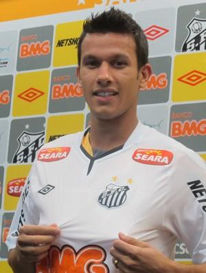Santos henrique (Foto: Adilson Barros/Globoesporte.com)