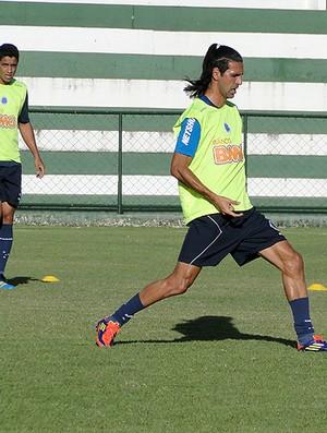 Leandro Guerreiro treino Cruzeiro (Foto: Fernando Martins / Globoesporte.com)