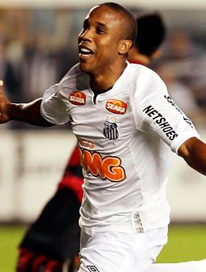 Borges gol Santos (Foto: Ag. Estado)