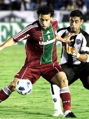 Fred no jogo do Fluminense contra o Atlético-MG (Foto: Photocâmera )