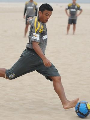 Benjamin treino seleção brasileira (Foto: CBBS / divulgação)