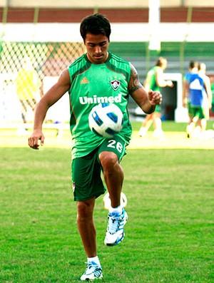 Martinuccio no treino do Fluminense (Foto: Ralff Santos / Site Oficial do Fluminense )