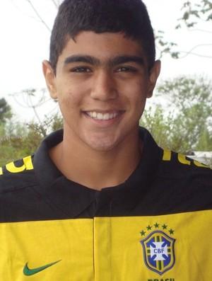 Gabriel, Seleção Sub-20 (Foto: Arquivo Pessoal)