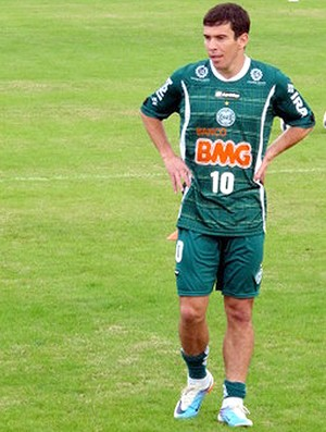 Leandro Donizete treino Coritiba (Foto: Marcelo Prado / Globoesporte.com)