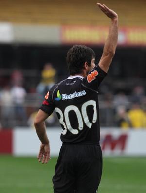 Juninho Pernambucano  Vasco x são paulo camisa 300 (Foto: Agência Estado)