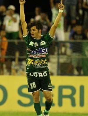 Júnior Xuca jogando pelo Icasa (Foto: Normando Sóracles/Miseria.com.br/Agência Diário)