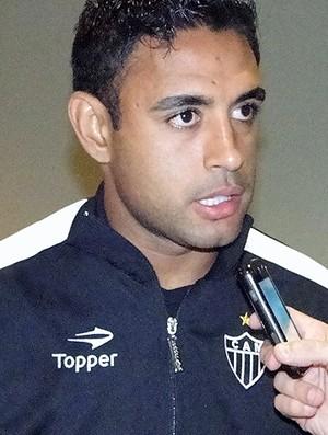 Werley, zagueiro do Atlético-MG (Foto: Marco Antônio Astoni / Globoesporte.com)