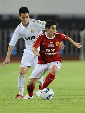 Conca  Guangzhou Evergrande x real madrid (Foto: Getty Images)