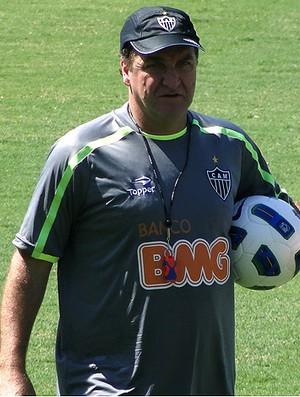 cuca atlético-mg treino (Foto: Lucas Catta Prêta / Globoesporte.com)