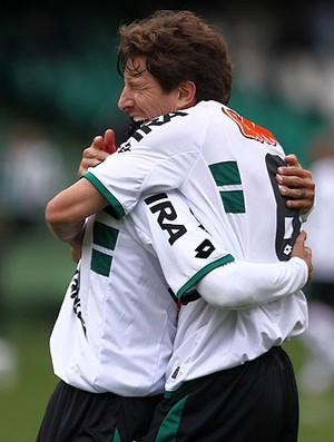 coritiba x atlético-mg tcheco (Foto: Agência Estado)