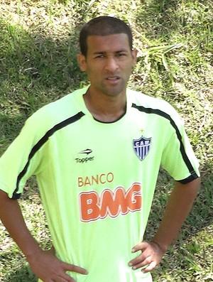 Pierre no treino do Atlético-MG (Foto: Lucas Catta Prêta / Globoesporte.com)