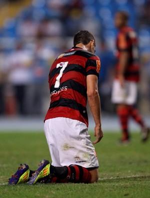 thiago neves flamengo x atlético-go (Foto: Alexandre Cassiano/Globo)