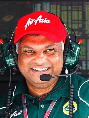 tony fernandes chefão da Lotus e agora dono do Queens Park Rangers (Foto: Agência Getty Images)