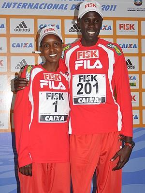 Meia do Rio: casal campeão (Foto: Divulgação/Sérgio Sibuya)