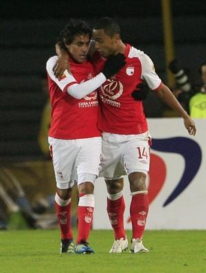 Santa Fé 2 x 0 César Vallejo, Copa Sul-Americana (Foto: EFE)