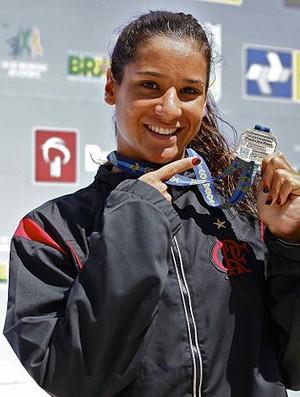 joanna maranhão natação medalha (Foto: Divlugação/Site Oficial Flamengo)