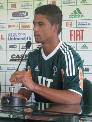 Ricardo Bueno, do Palmeiras (Foto: Diego Ribeiro / globoesporte.com)