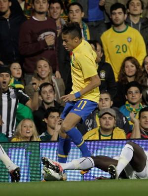 neymar brasil x gana (Foto: Mowa Press)