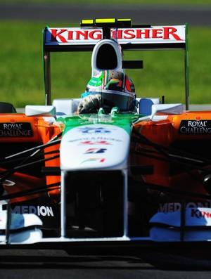 Modelo de asa utilizado pela Force India em Monza em 2010 (Foto: Getty Images)