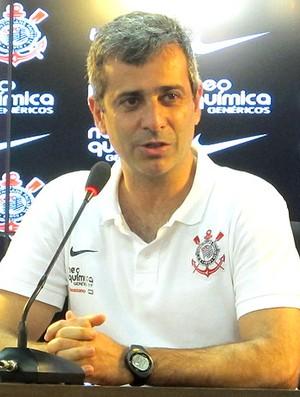 Fábio Mahseredjian, novo preparador físico do Corinthians (Foto: Carlos Augusto Ferrari / GLOBOESPORTE.COM)