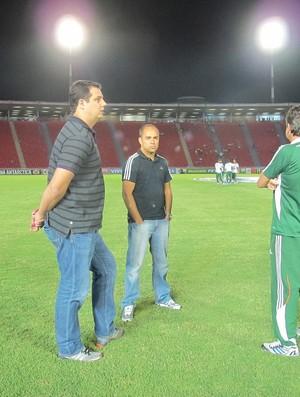 sandrão marcelo teixeira fluminense (Foto: Gabriel Peres / Fluminense F.C)